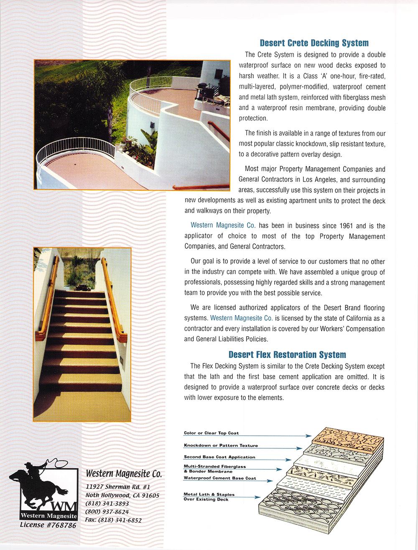 DesertFlexSystems Brochure
