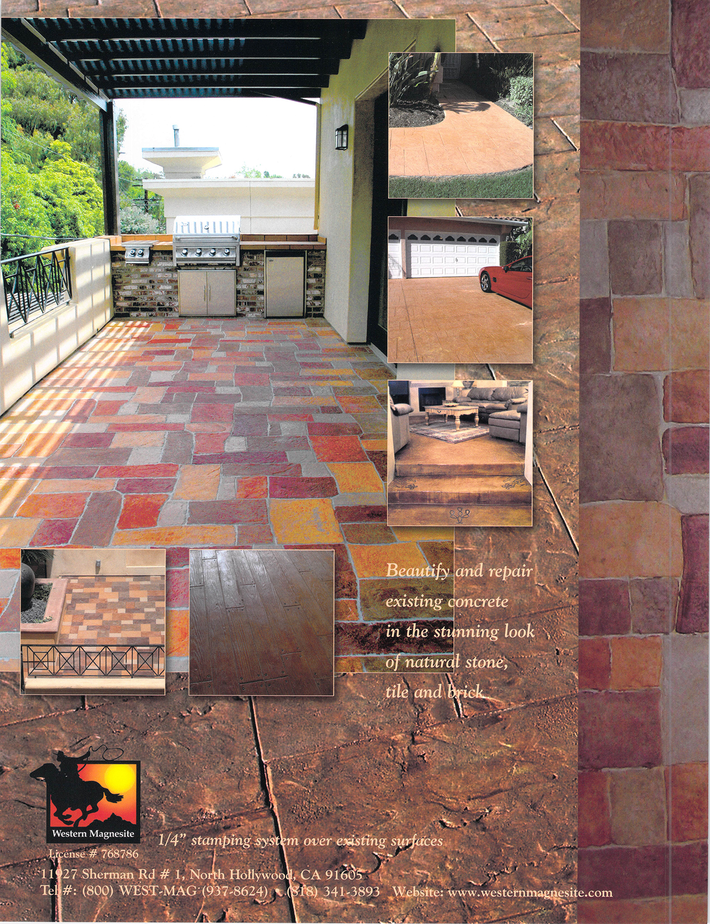 Stamped Concrete Overlays Brochure